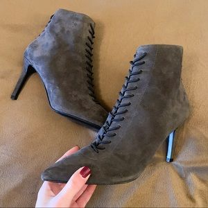 Kendall & Kylie Liza Suede Lace Up Boots